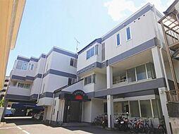 滋賀県大津市逢坂1丁目の賃貸マンションの外観