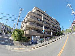 大阪府池田市五月丘5丁目の賃貸マンションの外観