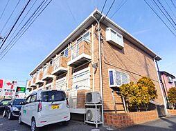 千葉県習志野市新栄2丁目の賃貸アパートの外観
