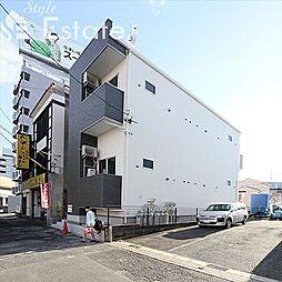 愛知県名古屋市南区明治2丁目の賃貸アパートの外観