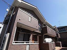 東京都町田市鶴川4丁目の賃貸アパートの外観