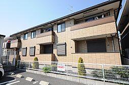 千葉県柏市鷲野谷の賃貸アパートの外観