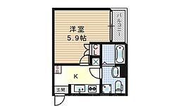 アコノーツII[2階]の間取り