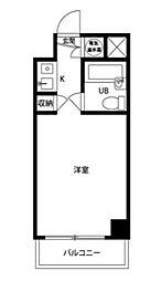 東京都豊島区東池袋3丁目の賃貸マンションの間取り
