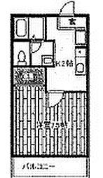 れんげ荘[2階]の間取り