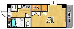 クレール仁川[106号室]の間取り