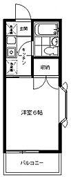 アドレ生田[201号室号室]の間取り