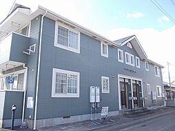 徳島県板野郡藍住町徳命字前須東の賃貸アパートの外観