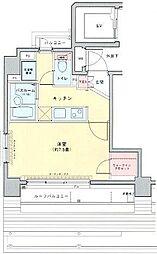 ロアール早稲田大学前弐番館[702号室]の間取り