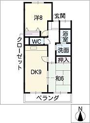 エミネンス覚王山[3階]の間取り