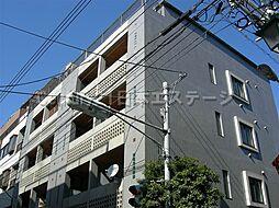 東京都品川区旗の台4丁目の賃貸マンションの外観