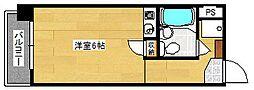コーポマルニ[304号室]の間取り