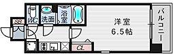 大阪府大阪市西淀川区野里1丁目の賃貸マンションの間取り