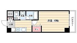 メディナ丹波口[9階]の間取り