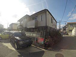 大阪府池田市旭丘1丁目の賃貸アパートの外観