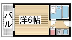 カサベラ神戸[11階]の間取り