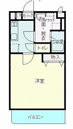 香川県高松市多肥下町の賃貸マンションの間取り