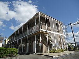 兵庫県西宮市山口町名来2丁目の賃貸アパートの外観