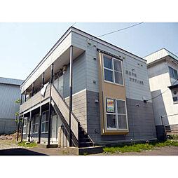 北海道札幌市厚別区厚別中央三条1丁目の賃貸アパートの外観