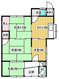 [一戸建] 香川県高松市上之町2丁目 の賃貸【/】の間取り