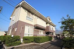 広島県広島市安佐南区東野3丁目の賃貸アパートの外観
