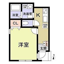 (仮称)中野区南台5丁目計画[1階]の間取り