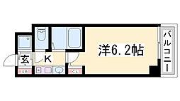 EC新神戸エリタージュ[8階]の間取り