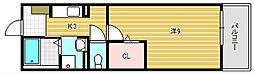 ブランジスタ並木[2階]の間取り