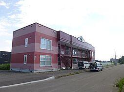 北海道旭川市永山北一条11丁目の賃貸アパートの外観