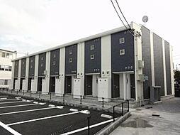 埼玉県入間郡毛呂山町岩井西3丁目の賃貸アパートの外観