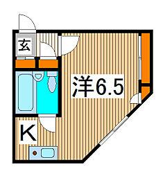 ハイム並木[2階]の間取り