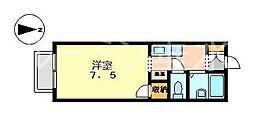 カスカータタルミ[2階]の間取り