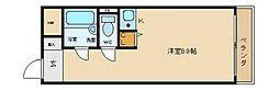エスペランス尾崎[4階]の間取り