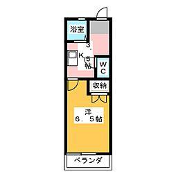 リヴァーサイド3[1階]の間取り