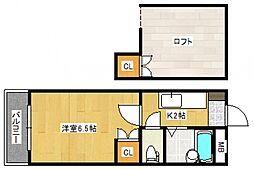 インターファーストビル[3階]の間取り