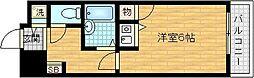 LEGAL天神橋[9階]の間取り