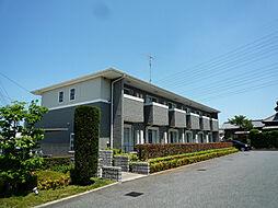 千葉県白井市富塚の賃貸アパートの外観