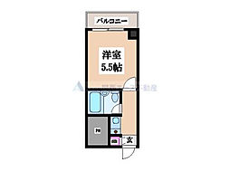 トーエー永田ビル[6階]の間取り