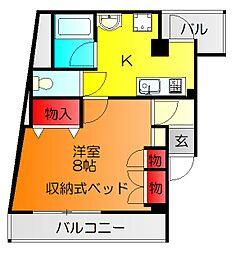 福ビル1[2階]の間取り