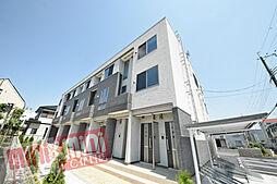 兵庫県伊丹市昆陽3丁目の賃貸アパートの外観