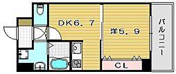 エクセル茨木ビル[3階]の間取り