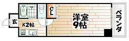 KMマンション八幡駅前I[5階]の間取り