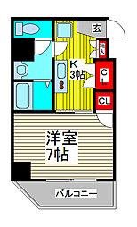ベル・ヴュー川口本町[503号室]の間取り
