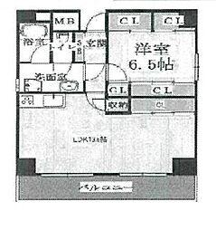 アプリコ[11階]の間取り