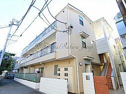 神奈川県藤沢市鵠沼海岸2丁目の賃貸アパートの外観