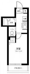 東京メトロ有楽町線 小竹向原駅 徒歩14分の賃貸アパート 3階1Kの間取り