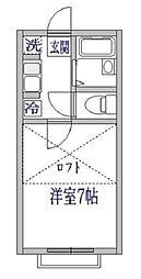 エクセル6(シックス)[2階]の間取り