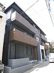 神奈川県川崎市高津区下野毛1丁目の賃貸アパートの外観