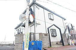 埼玉県草加市谷塚仲町の賃貸アパートの外観