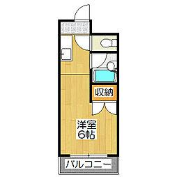 サントピアZEN[102号室]の間取り